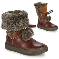 Zapatos Niña Botas de caña baja GBB NOUSTIK Marrón