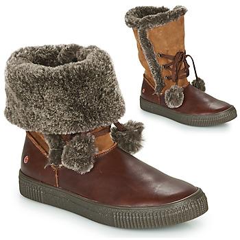 Zapatos Niña Botas urbanas GBB NOUSTIK Marrón