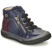 Zapatos Niño Zapatillas altas GBB OMAHO Azul