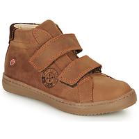 Zapatos Niño Zapatillas altas GBB NAZAIRE Marrón
