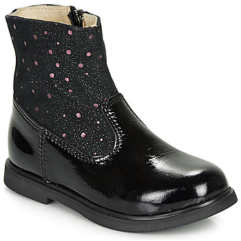 Zapatos Niña Botas de caña baja GBB OSHINO Negro