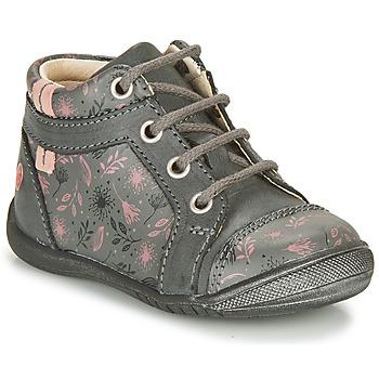 Zapatos Niña Botas de caña baja GBB OMANE Gris / Rosa