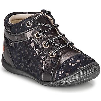 Zapatos Niña Botas de caña baja GBB OMANE Marino / Plateado