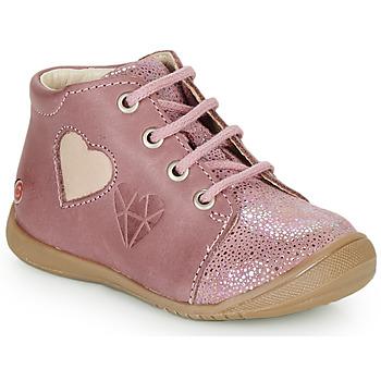 Zapatos Niña Zapatillas altas GBB OCALA Envejecido / Rosa