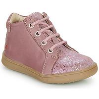 Zapatos Niña Zapatillas altas GBB FAMIA Envejecido / Rosa