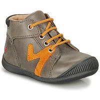 Zapatos Niño Botas de caña baja GBB OVELO Gris / Ocre