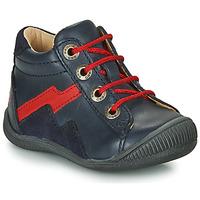 Zapatos Niño Botas de caña baja GBB ORAM Marino / Rojo