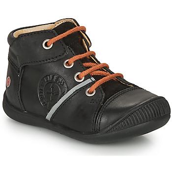 Zapatos Niño Botas de caña baja GBB OULOU Negro