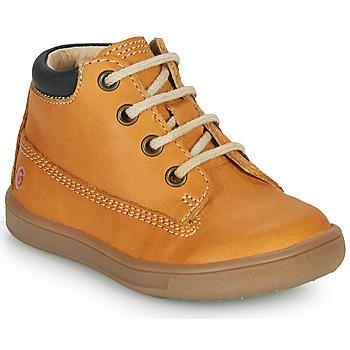 Zapatos Niño Botas de caña baja GBB NORMAN Ocre