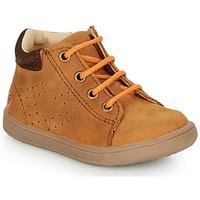 Zapatos Niño Zapatillas altas GBB FOLLIO Cognac