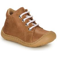 Zapatos Niño Zapatillas altas GBB FREDDO Cognac