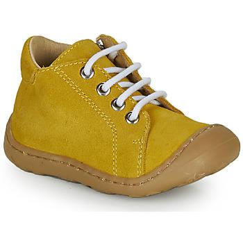 Zapatos Niño Zapatillas altas GBB FREDDO Amarillo