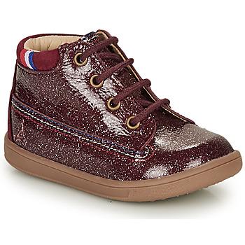 Zapatos Niña Botas de caña baja GBB FRANCETTE Burdeo