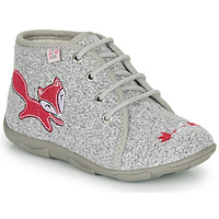 Zapatos Niña Pantuflas GBB OTRALEE Gris / Rosa