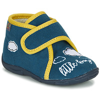 Zapatos Niño Pantuflas GBB OKANDI Azul / Amarillo