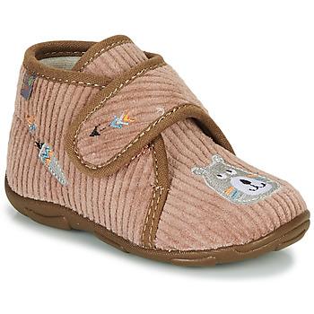 Zapatos Niño Pantuflas GBB OKANDI Marrón