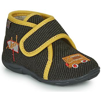 Zapatos Niño Pantuflas GBB OKANDI Negro