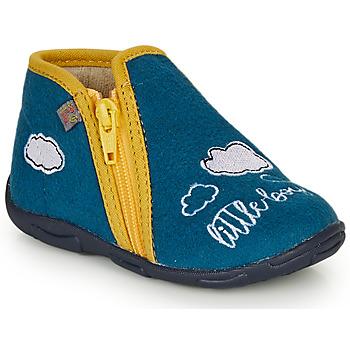 Zapatos Niño Pantuflas GBB OUBIRO Azul / Amarillo
