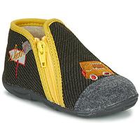 Zapatos Niño Pantuflas GBB OUBIRO Negro / Gris