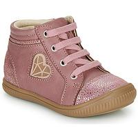 Zapatos Niña Zapatillas altas GBB OTANA Envejecido / Rosa