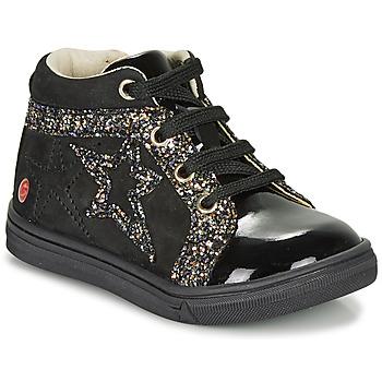 Zapatos Niña Zapatillas altas GBB NAVETTE Negro