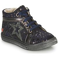 Zapatos Niña Zapatillas altas GBB NAVETTE Marino