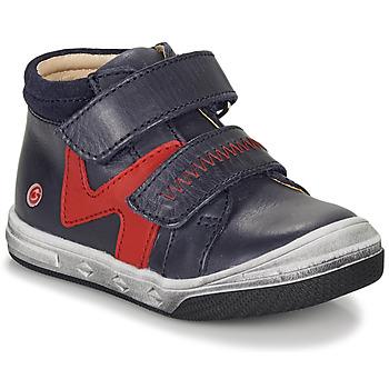 Zapatos Niño Zapatillas altas GBB OGROU Azul / Rojo