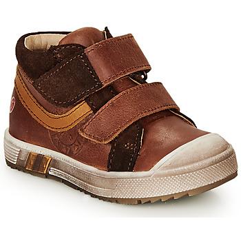 Zapatos Niño Zapatillas altas GBB OMALLO Marrón