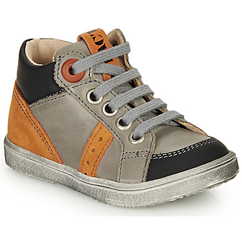 Zapatos Niño Zapatillas altas GBB ANGELITO Gris / Naranja