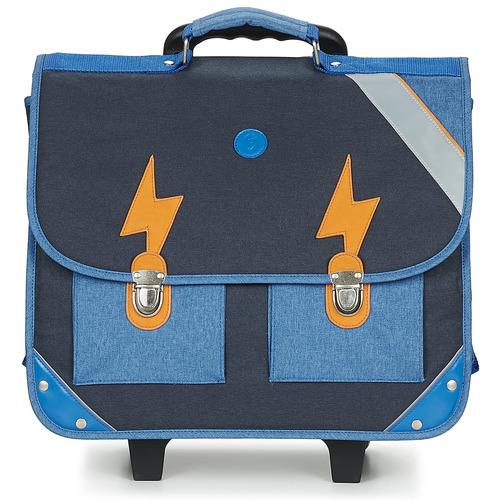 GBB FANOU Azul - Envío gratis | ! - Bolsos Mochila / Cartera con ruedas Nino