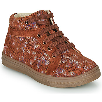 Zapatos Niña Zapatillas altas GBB OMBLINE Ladrillo