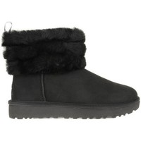 Zapatos Mujer Botas de nieve UGG Fluff Mini Quilted Negro