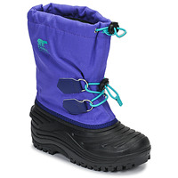 Zapatos Niños Botas de nieve Sorel YOUTH SUPER TROOPER Azul