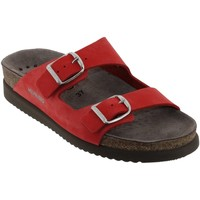 Zapatos Mujer Zuecos (Mules) Mephisto HARMONY Cuero rojo coral