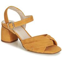 Zapatos Mujer Sandalias Fericelli  Amarillo