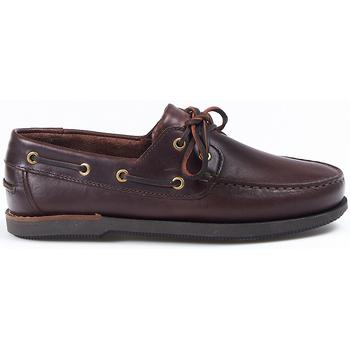 Zapatos Zapatos náuticos La Valenciana Zapatos  3200 Pull Marrón Marrón