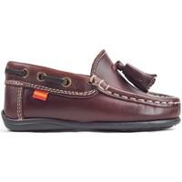 Zapatos Niños Zapatos náuticos La Valenciana Zapatos Niños  216 Burdeos Rojo