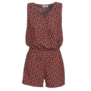 textil Mujer Monos / Petos Moony Mood KETTELLE Rojo / Multicolor