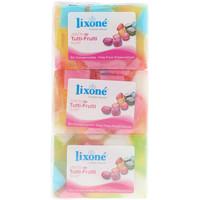 Belleza Desmaquillantes & tónicos Lixone Tutti-frutti Jabón Glicerina Vegetal 3 X 125 Gr 3 x 125 g