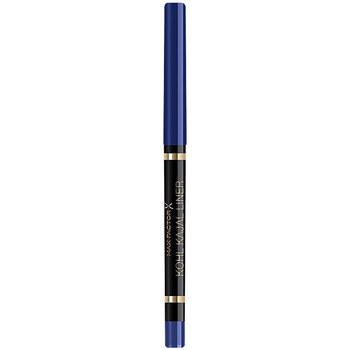 Belleza Mujer Lápiz de ojos Max Factor Khol Kajal Liner Automatic Pencil 002-azure 5 g