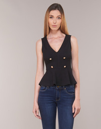 textil Mujer Tops / Blusas Moony Mood KILLE Negro
