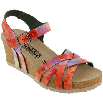 Zapatos Mujer Sandalias Mephisto Lanny Multi naranja/rosa