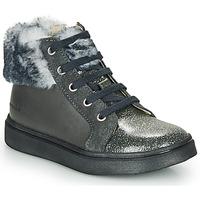 Zapatos Niña Zapatillas altas Catimini MARCELLE Gris