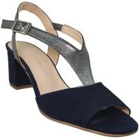 Zapatos Mujer Sandalias Brenda Zaro F3243 Terciopelo azul marino
