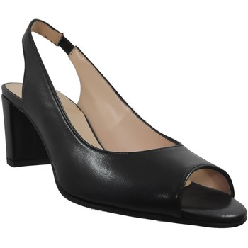 Zapatos Mujer Sandalias Brenda Zaro F3275 Cuero negro