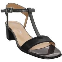 Zapatos Mujer Sandalias Brenda Zaro F2697 Cuero negro