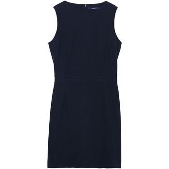 Gant Vestido Jersey Pique Azul