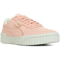 Zapatos Mujer Zapatillas bajas Puma Cali Nubuck Wn's Rosa
