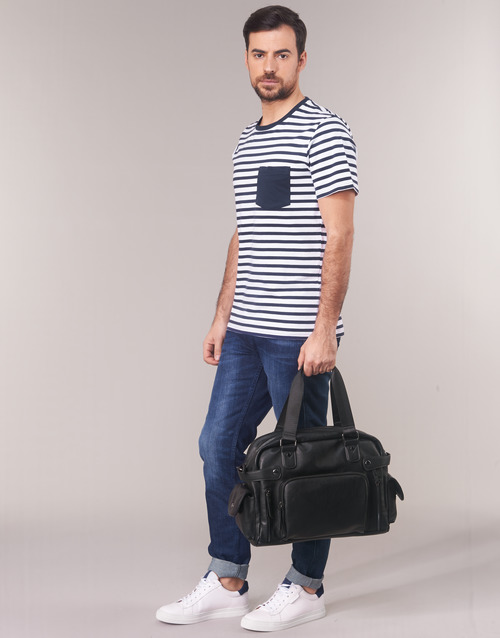 Manga MarinoBlanco Attitude Karale Textil Hombre Camisetas Casual Corta OXZukPi