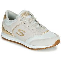 Zapatos Mujer Zapatillas bajas Skechers SUNLITE Gris / Oro